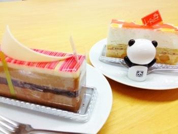 きれいすぎるケーキ