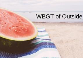 屋外のWBGTを計算する1